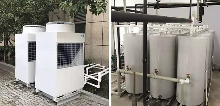 Heat Pumps for Hospital for Heating and Hot Water