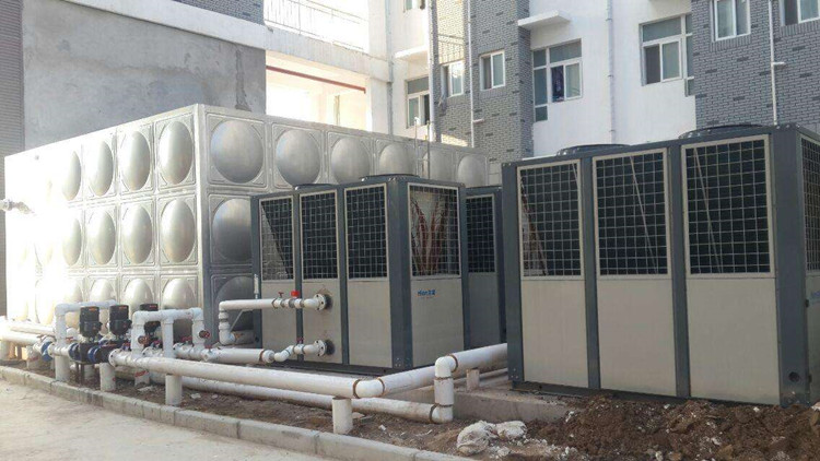 The water tank of the air source heat pump hot water system is overflowing. How to deal with this failure?