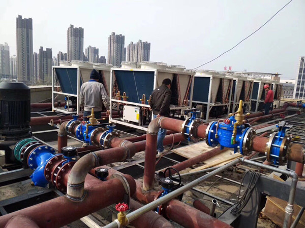 China commercial air source heat pump hot water heaters company