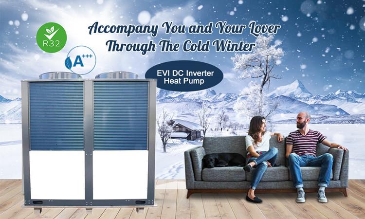 Low Temperature Heat Pumps Applications