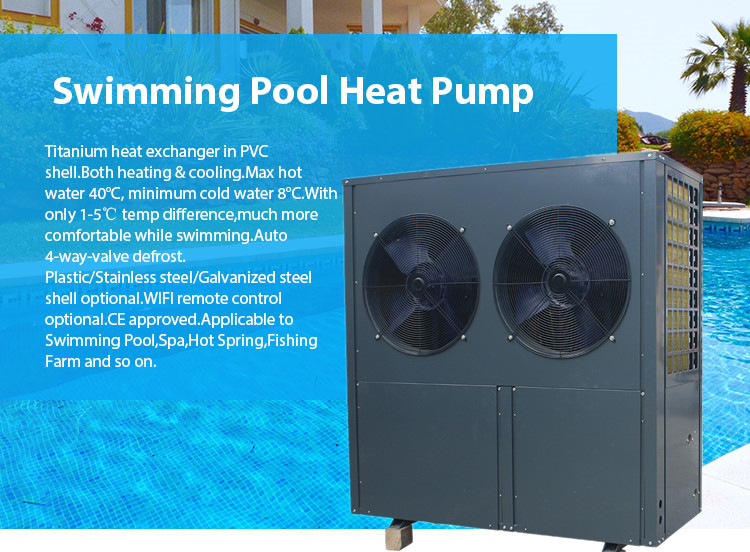 China 24KW Pool Heat Pump Suppliers