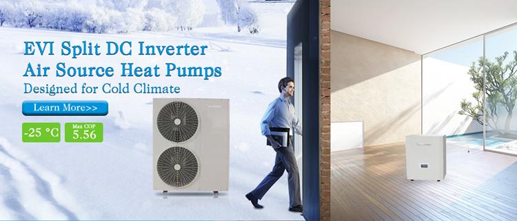Cold Climates Heat Pumps Applications