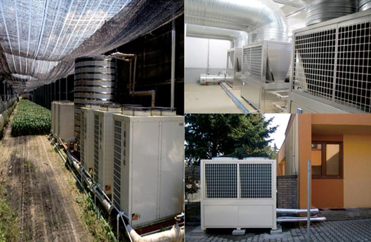 High Temperature Industrial Heat Pumps Installations